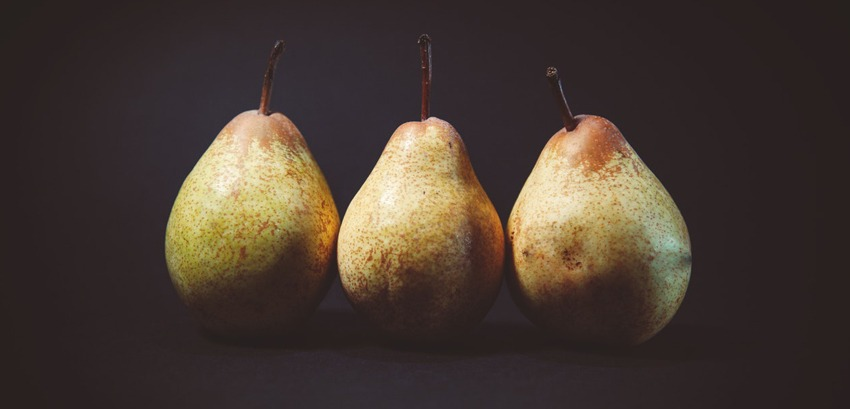 the pear is rich in soft fibers