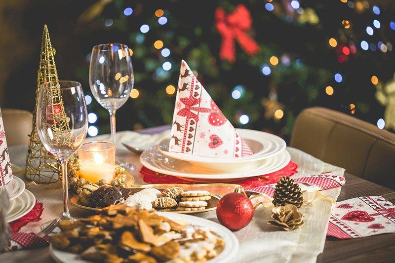 repas de fêtes de fin d'année