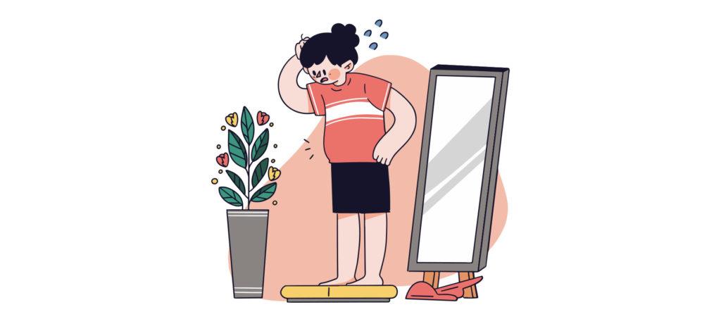 Progressive weight gain