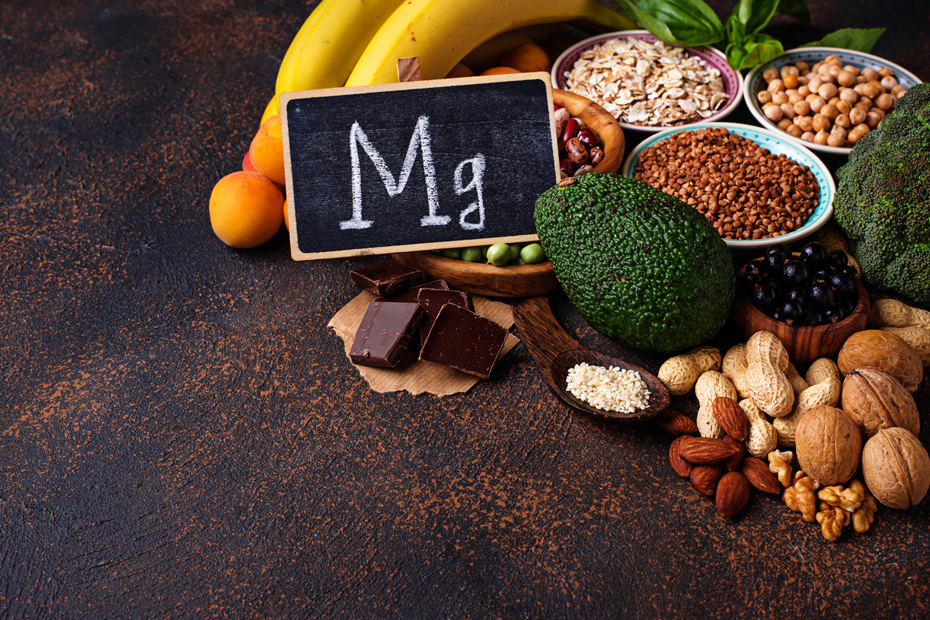 foods and supplements with a high magnesium intake