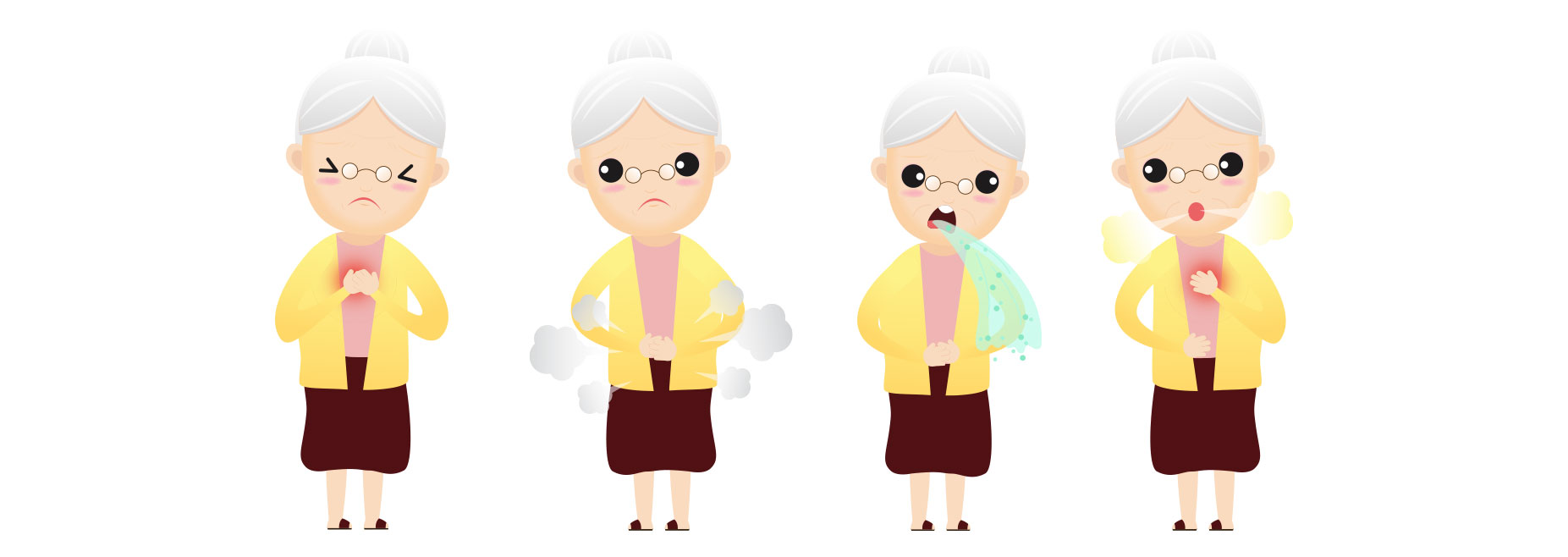symptome reflux gastrique